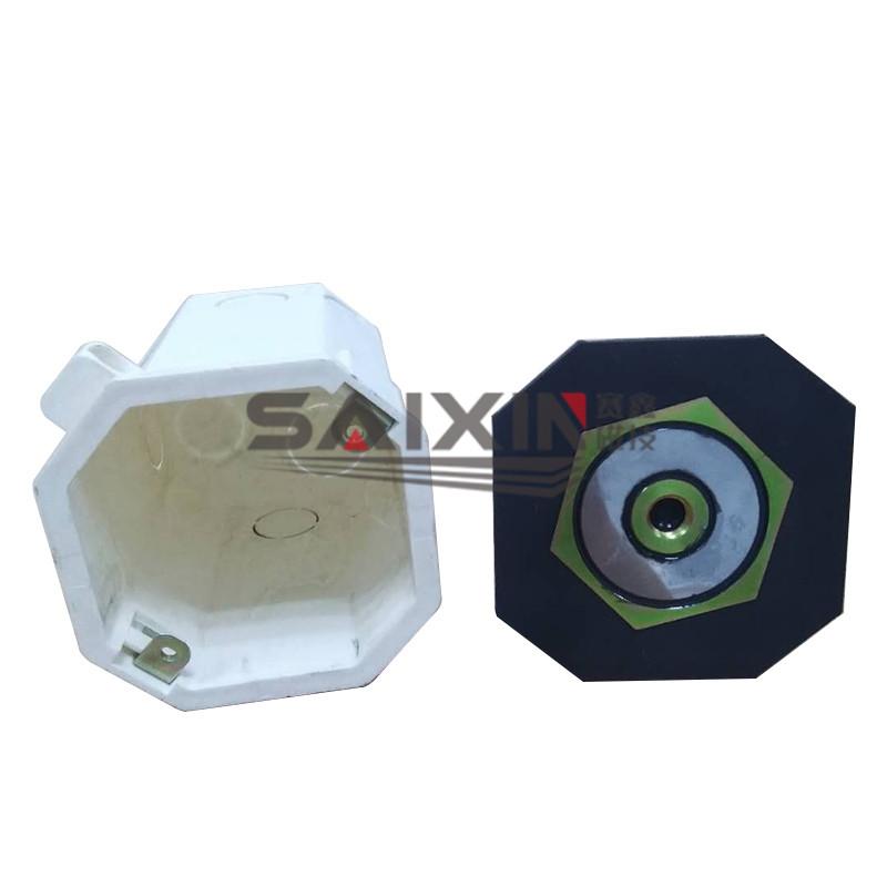 八角线盒固定器